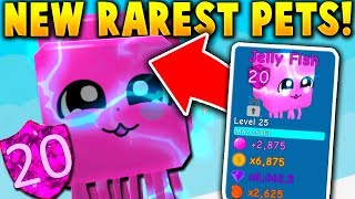 I HATCHED BOTH THE RAREST *NEW* PETS!! (+ Update Codes) - Roblox Bubble Gum Simulator