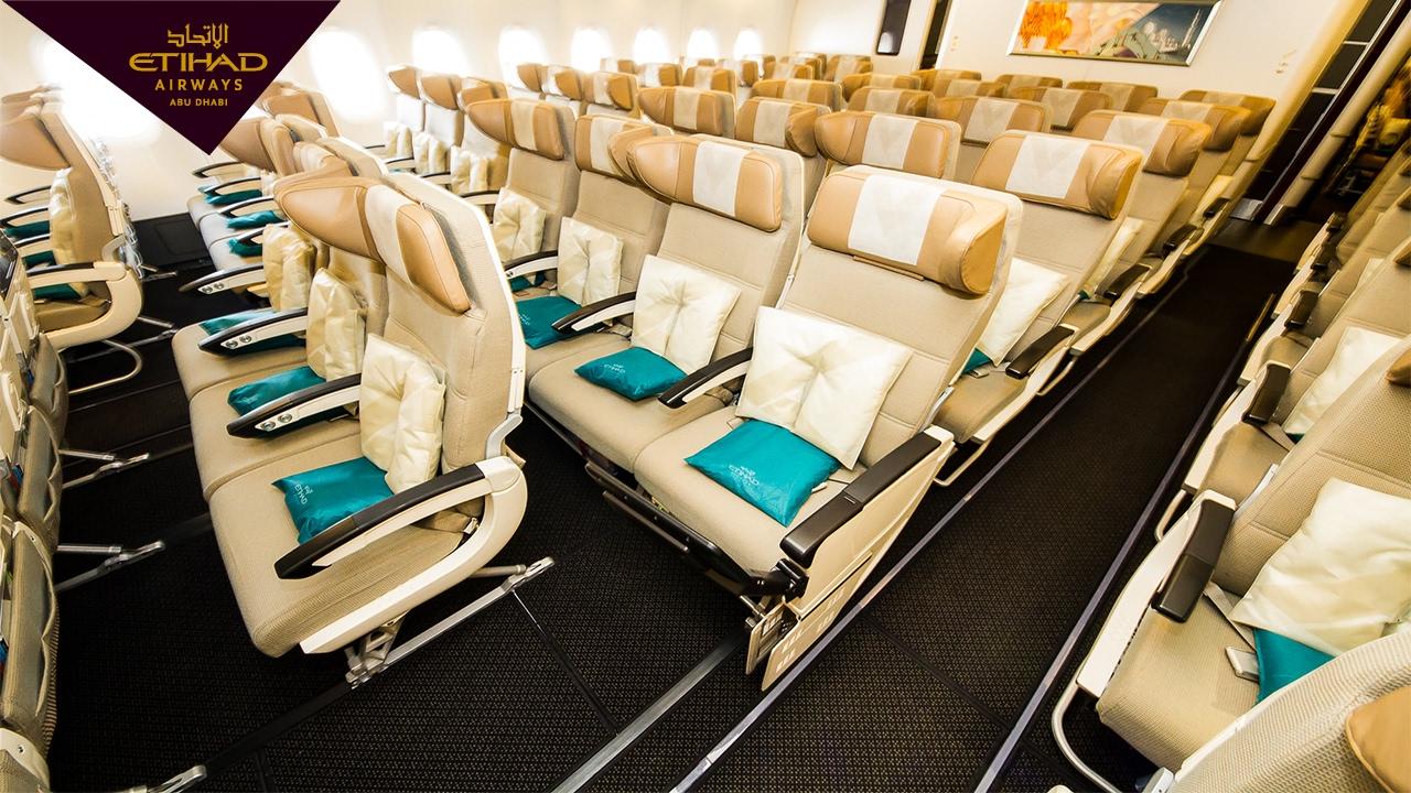 Etihad Airways 11 Abu Dhabi To London Onboard The A380