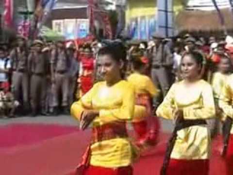 Keindahan Tari Benada Tradisional Lampung | Tari Tradisional