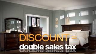 Ashley Furniture Homestore Tax Relief Sale!