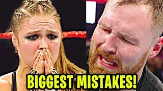 10 BIGGEST Mistakes WWE Superstars Made In 2018