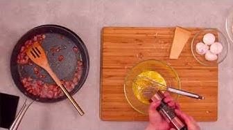 Italialainen pasta carbonara
