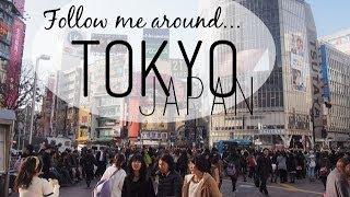 Follow Me Around Tokyo, Japan! - Shibuya, Tsukiji, Alice in Wonderland Cafe, Arabian Rock, Shinjuku