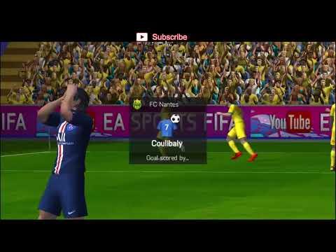 Nantes Vs PSG - FIFA 20 Mobile Game Play