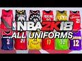 All Uniforms - NBA 2K18