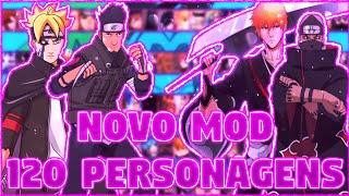 NOVO MOD BLEACH VS NARUTO 3.3 120 personagens MUGEN ANDROID APK