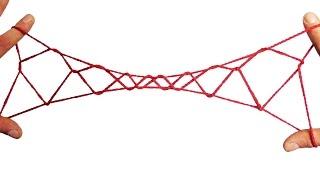 String Tricks! How To Make An 8 Diamond Jacobs Ladder