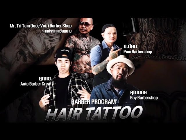 Mr.Trí Tam Quốc in Thai Land | Jameson Barber Connection | Barbershop Vũ Trí