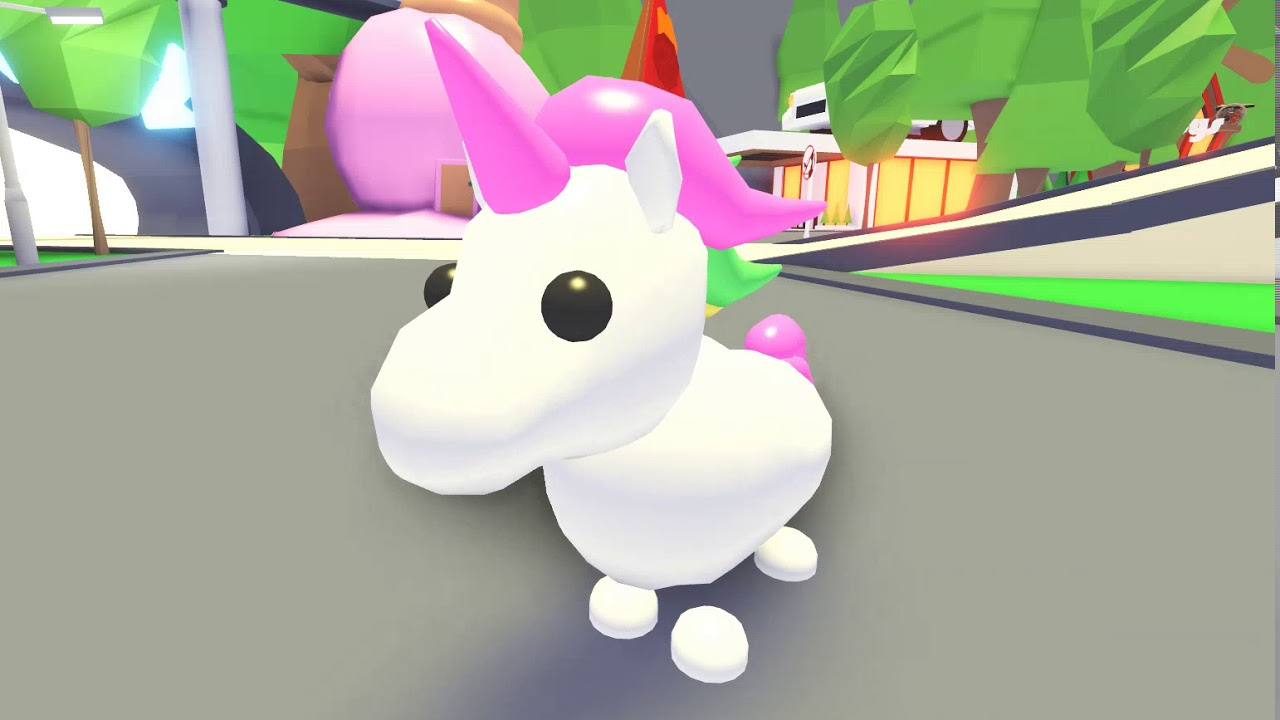 Unicorn Pet In Adopt Me Slubne Suknie Info
