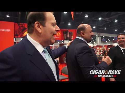Gurkha Cigars Booth at IPCPR 2017 in Las Vegas, NV