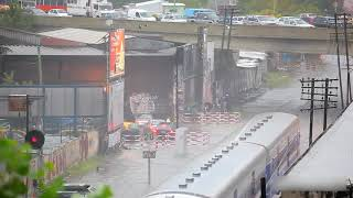 Tsunami by train!!!