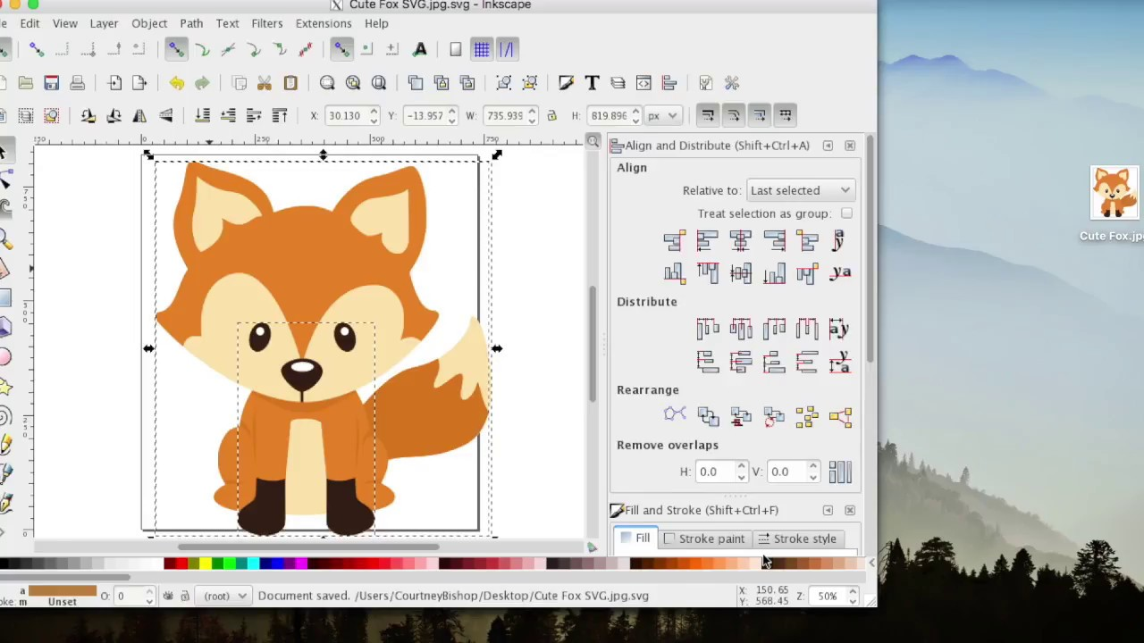 How To Create SVG Files Inkscape For Design Space