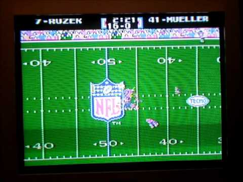 Tecmo Super Bowl XX - Philadelphia vs. Buffalo