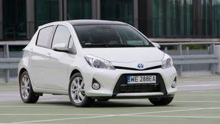 Toyota Yaris Hybrid 2013 Videos