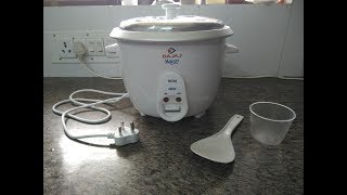Unboxing of Rice cooker and review, Bajaj majesty rice cooker by nirmala hatti.
