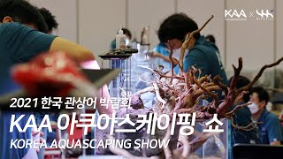 2021 KAA 아쿠아스케이핑 쇼 (관상어 박람회, K…