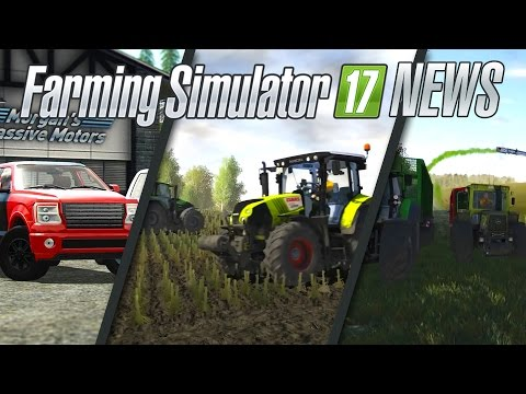 Farming Simulator 17 NEWS #15 | Gameplay Vidéos, cattle and crops et mods ps4 xbox one !