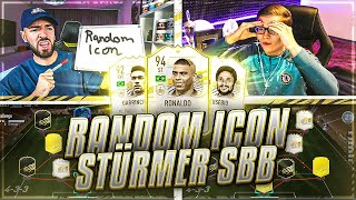 FIFA 21: RANDOM MID ICON SQUAD BUILDER BATTLE 🔥🔥 Wakez vs Realfifa