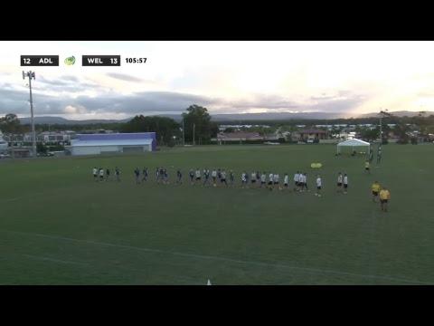 AUC2017 Men's - Outbreak (Adelaide) vs Wildcats (Wellington)