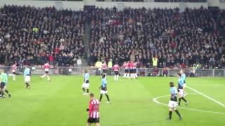 Goal Orlando Engelaar (2-1), PSV-FC Utrecht 03-02-2010, eindstand 2-1