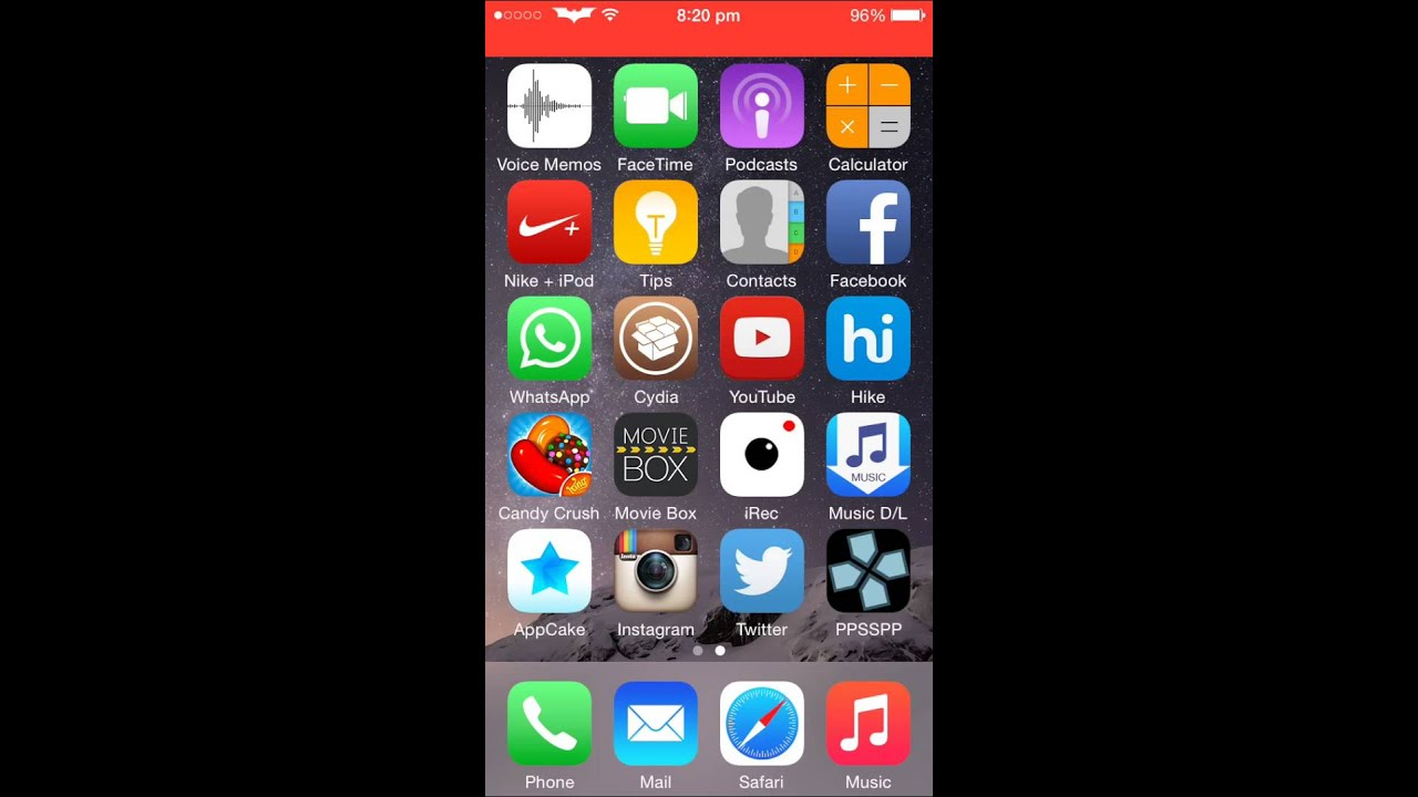 How To Downlod App Cake On Ios8 1 2 No Computer Youtube