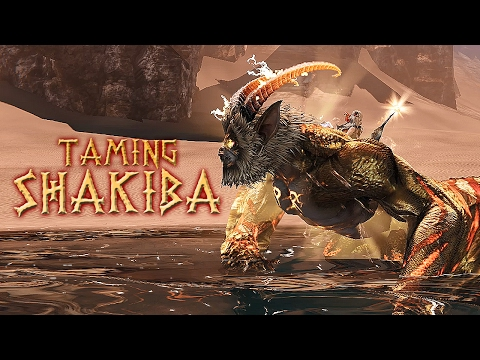 Taming Shakiba! Riders of Icarus (Legendary Tame)