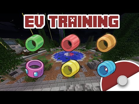 EVS Explained: How to EV Train in Pixelmon Tutorial