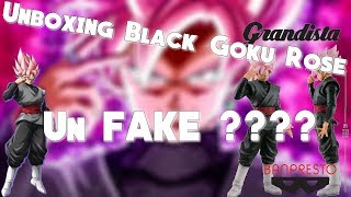 Unboxing #2 Black Goku Rose Resolution Of Soldiers Un fake ???