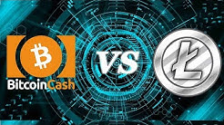 THE FLAPPENING! Litecoin Passes Bitcoin Cash! Charlie Lee Predicted It!