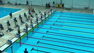 동아수영대회 남고부 자유형 50m 결승, 22초대의 선수가 3명??