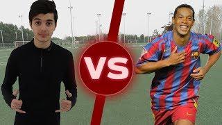 شاب عربي يتحدى الساحر رونالدينهو فالمهارات!!! | Challenge Vs Ronaldinho