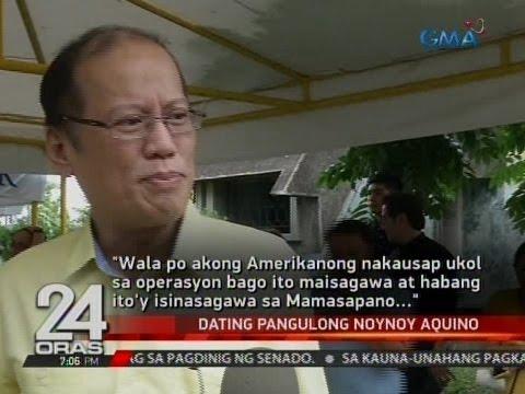 Dating Pres. Noynoy Aquino, sinagot ang mga sinabi ni Pres. Duterte kaugnay sa Mamasapano operation