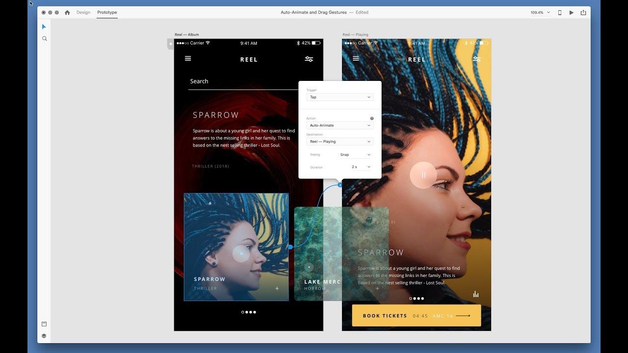 Adobe XD October 2018 Update: Auto-Animate | Adobe Creative Cloud