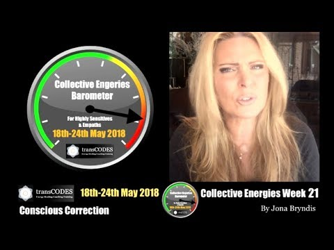 18th- 24th May 2018 Energy Update & Energy Tips For Empaths (Week 21): CONSCIOUS CORRECTION