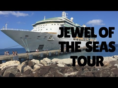 Jewel of the Seas Tour Walk Through 2017