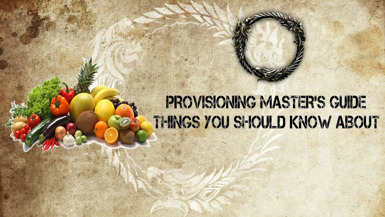 Eso witches festival new recipes things you should know to eso witches festival new recipes things you should know to become master provisioner forumfinder Choice Image