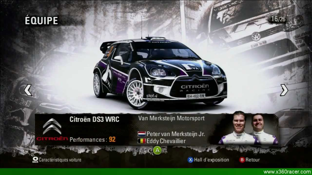 WRC 3 - Toutes les Equipes/Voitures (All Teams/Cars) HD - YouTube
