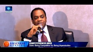 You Can't Be Competitive When You Are Not Productive - Donald Duke |Business Morning|