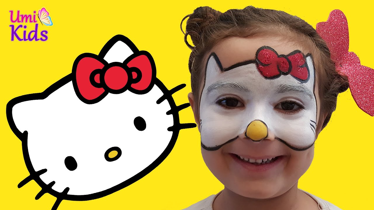 Hello Kitty Makyaji Hello Kitty Turkce Umikids Makyaj