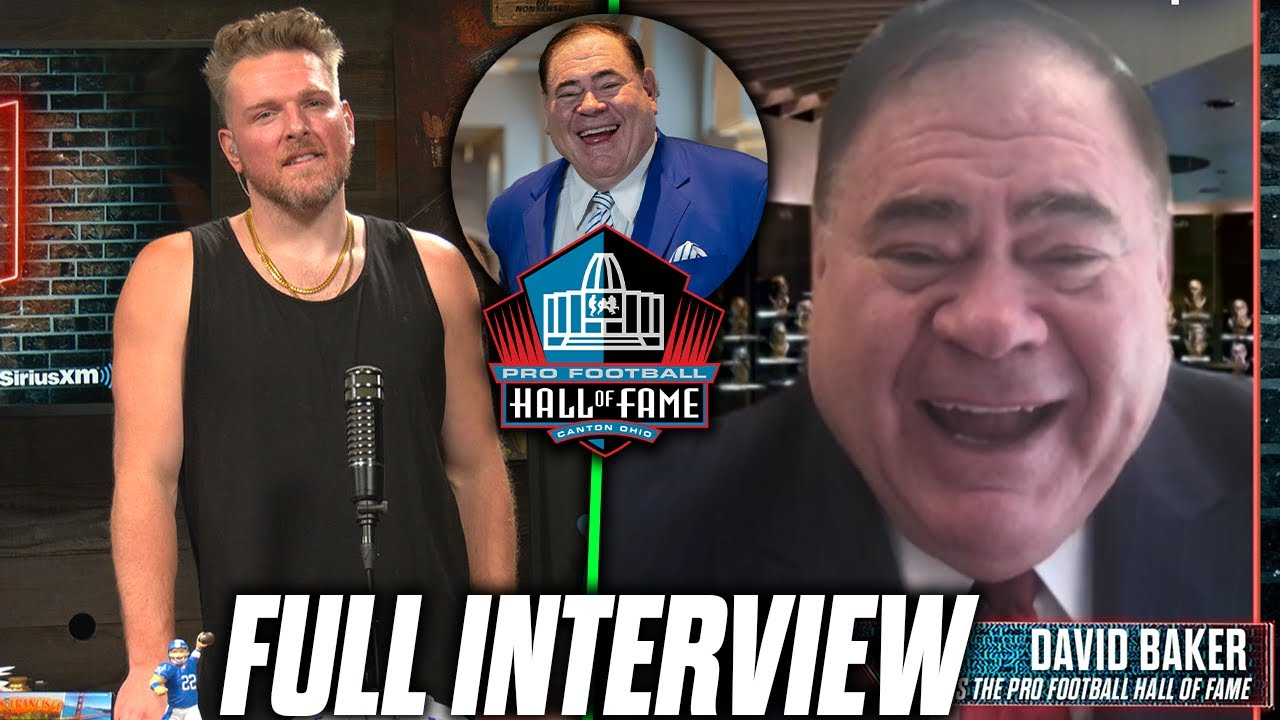 Pat McAfee Learns The Real Purpose Of The NFL Hall Of Fame By David Baker