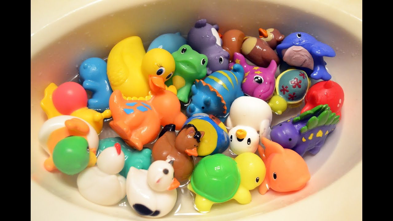 Rubber Duckie Toys