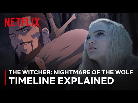 Download The Witcher: Nightmare of the Wolf | Timeline Explainer