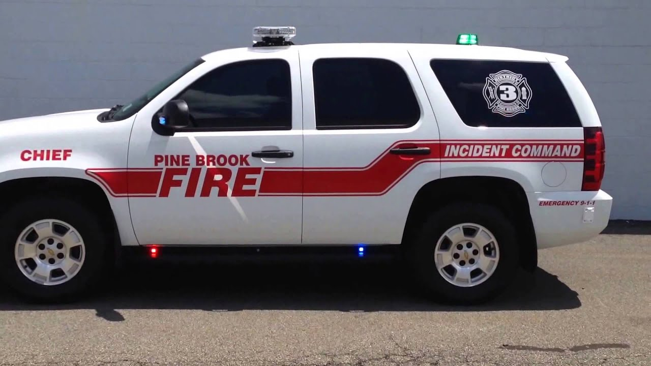 Fire Chief Tahoe Special Service Vehicle Youtube