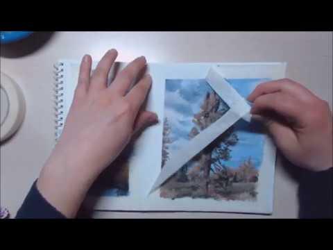 Landscape painting (bad art/ art block)
