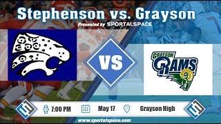 Grayson vs. Stephenson 2018 Football Scrimmage