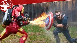 المحرك النفاث مقابل Captain America Shield (جعله كسر)