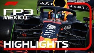 2019 Mexican Grand Prix: FP3 Highlights