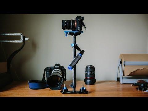 "$75 ""Steadycam"" | Film School Friday | Neewer 24"" Carbon Fiber Stabilizer"