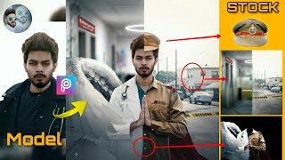 Vijay mahar The Heroes Concept Photo Editing | Vijay mahar Doctor and police Dress photo editing screenshot 5