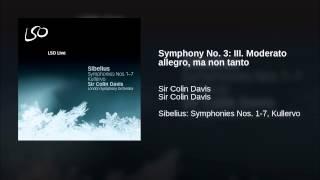 Symphony No. 3: III. Moderato allegro, ma non tanto
